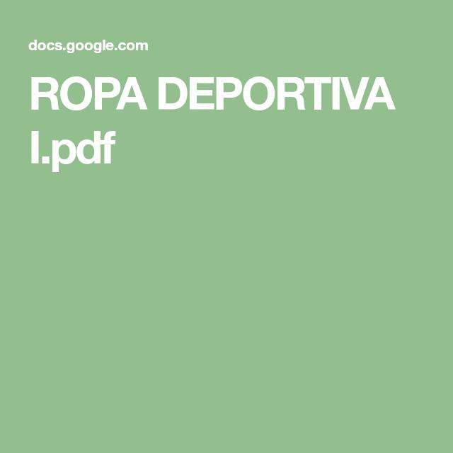 Ropa Deportiva I Pdf Books Lockscreen
