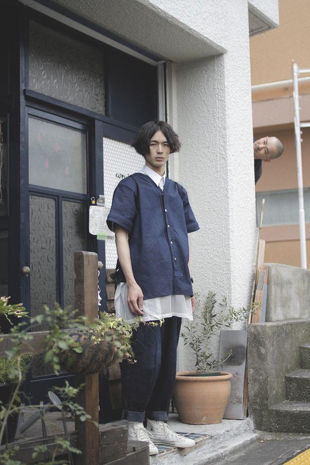 [Street Style] ODABUTSU | 庭園設計士学生 | Shibuya (Tokyo)