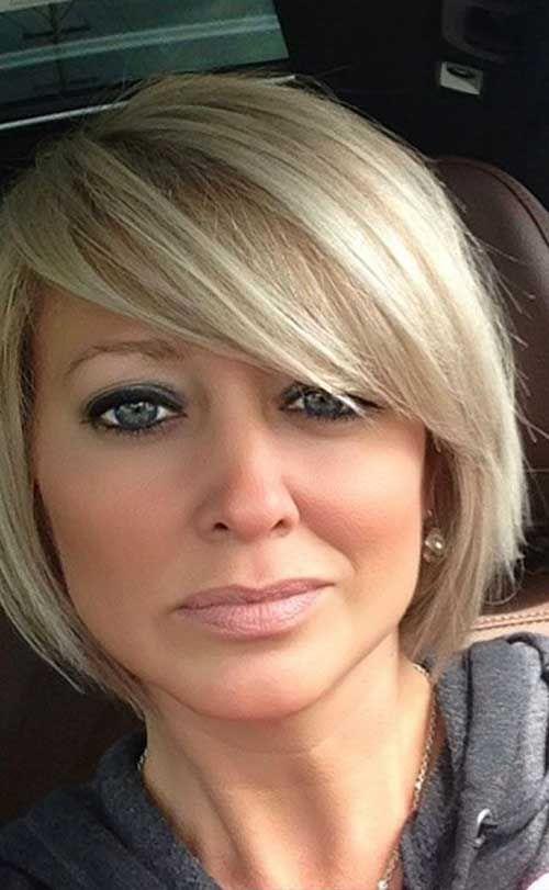 Short Bob Haircuts For Women Over 50