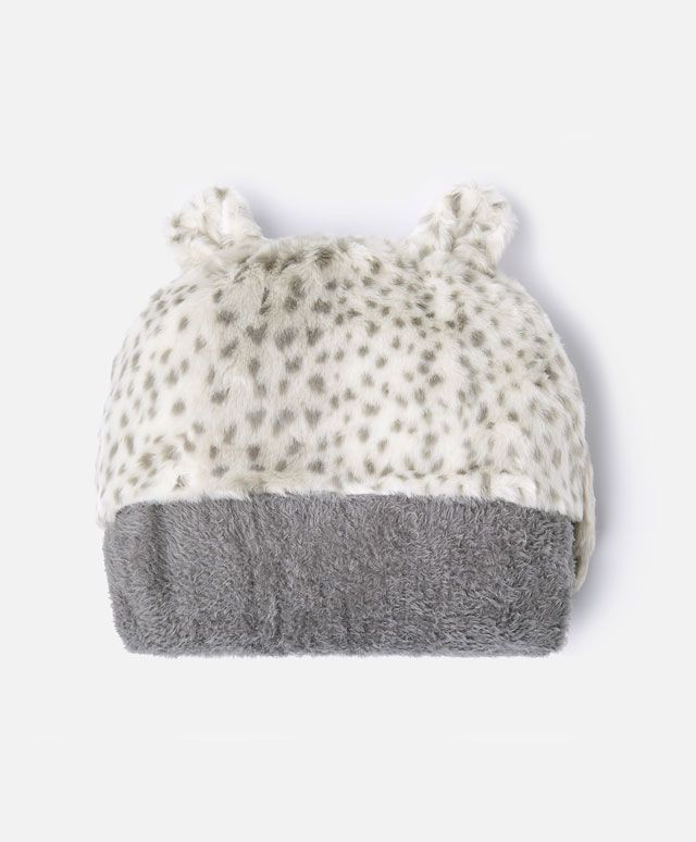 a0c3016365834 Leopard hooded blanket - OYSHO