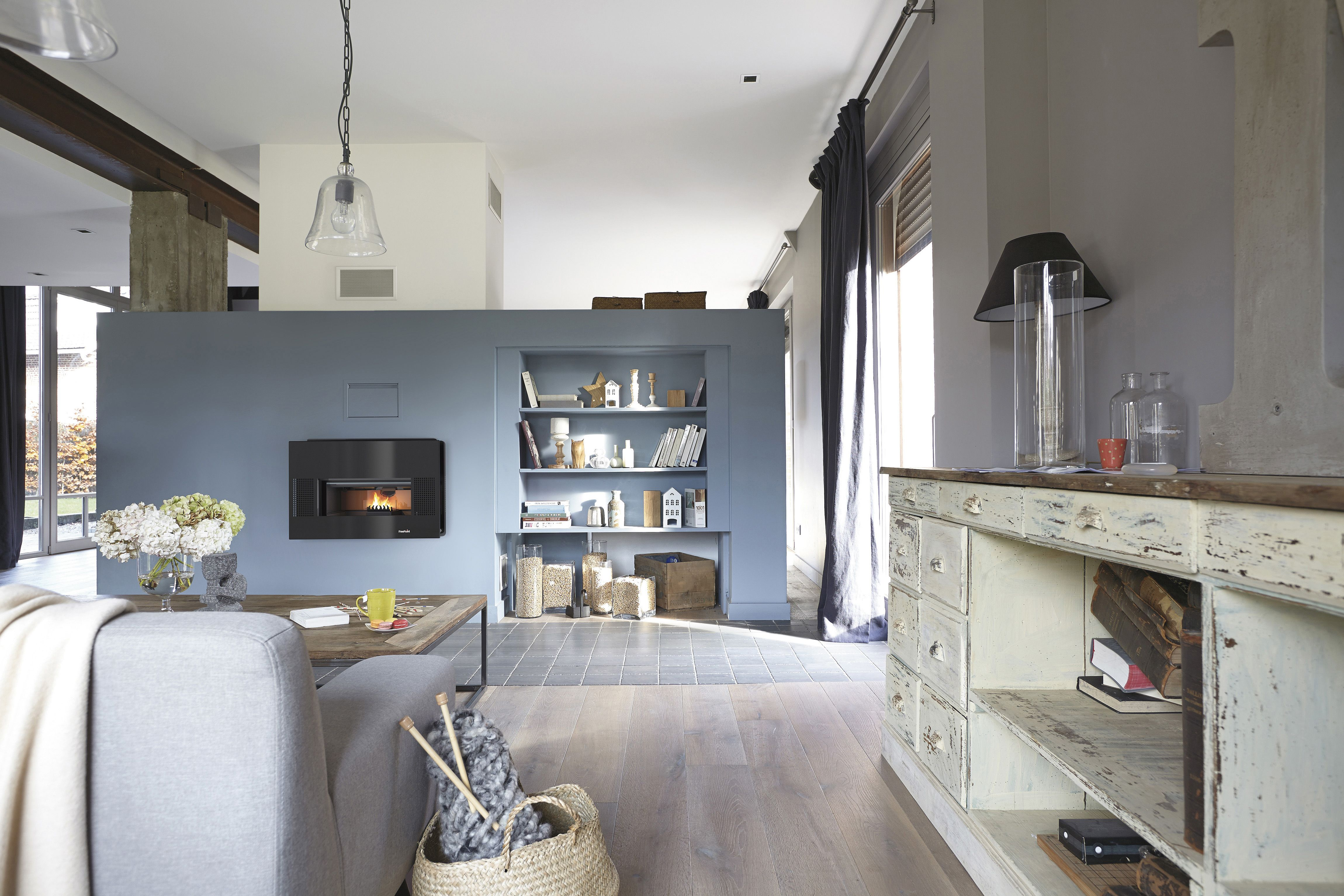 Un Foyer Chaleureux Au Coeur Du Sejour Homedecor Avec Images
