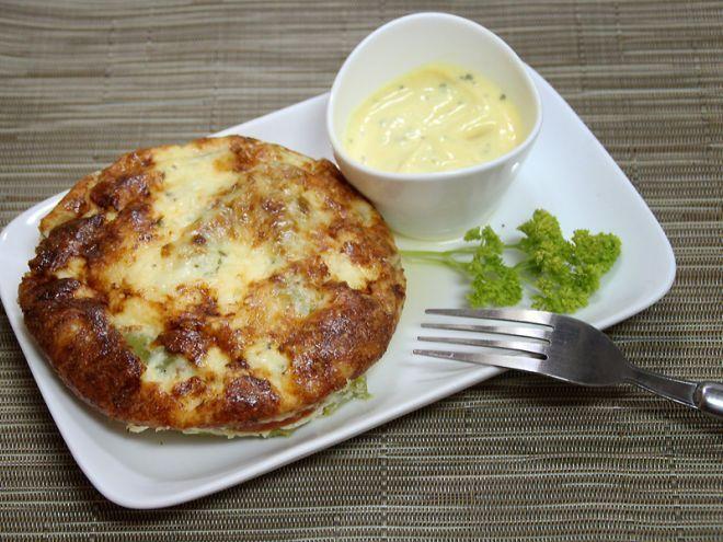 Receta Entrante : Pastel de judías verdes y tomate por Dviciobarcelona