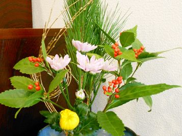 Ikebana of New Year 2012