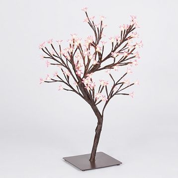 Pink Pre Lit Cherry Blossom Tree Kirklands Cherry Blossom Tree Pink Cherry Blossom Tree Artificial Trees Decor