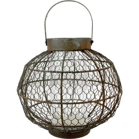 Globe Lantern En Wire