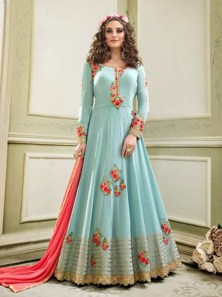 9d57279e58 Salwar kameez Indian Designer Bollywood Ethnic Wedding Party Anarkali Suit # Handmade #Anarkali #weddingpartywear