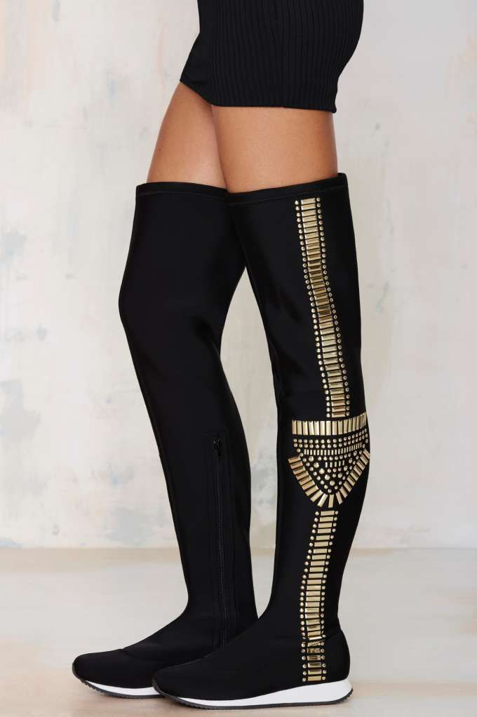 Privileged Hewitt Over-the-Knee Neoprene Boot | Shop Shoes at ...