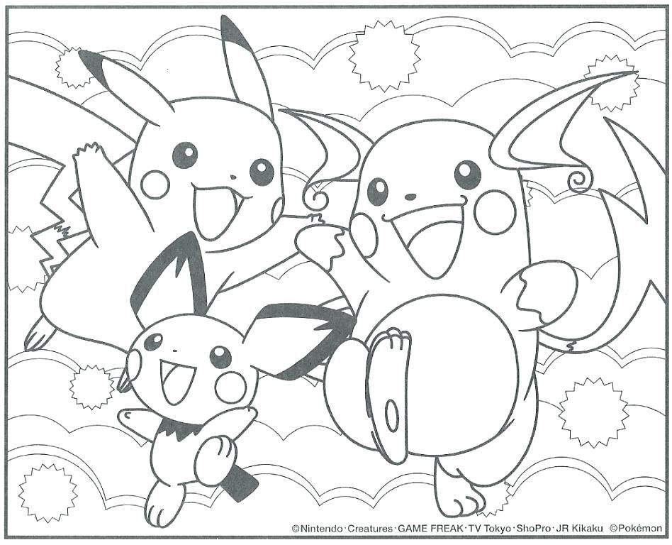 Raichu Coloring Pages Coloring Pages Alolan Raichu Coloring Pages