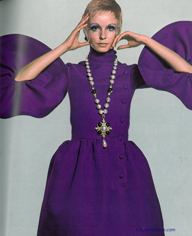 Couture Allure Vintage Fashion: Michel Goma for Patou, 1968 | I Love ...