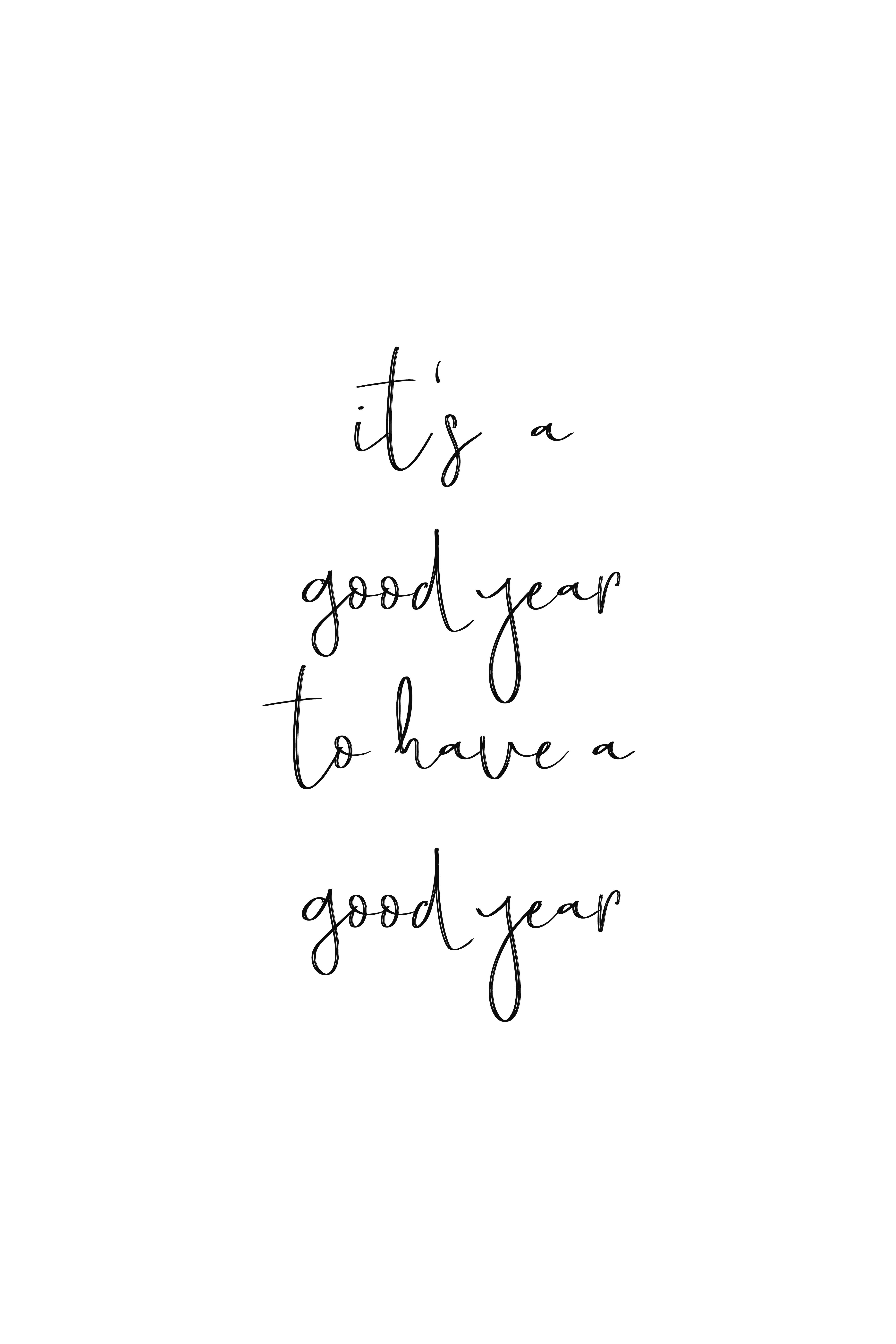 2018 Inspiration Poster Motivation Wall Art New years eve Printable ...