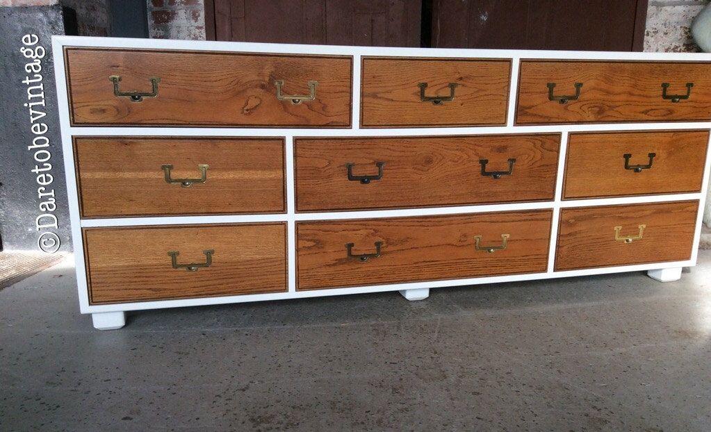 mid century modern credenza craigslist white dresser campaign chest ikea plans