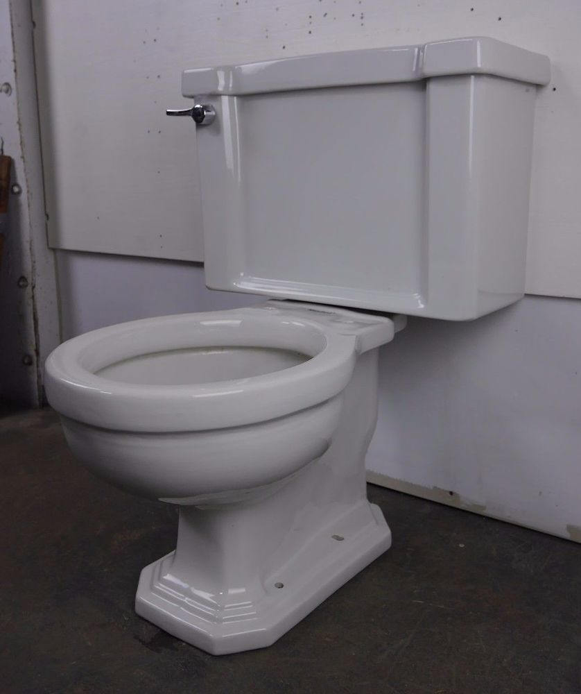 Antique Vintage American Standard Toilet 1940s F4054 Compact ...