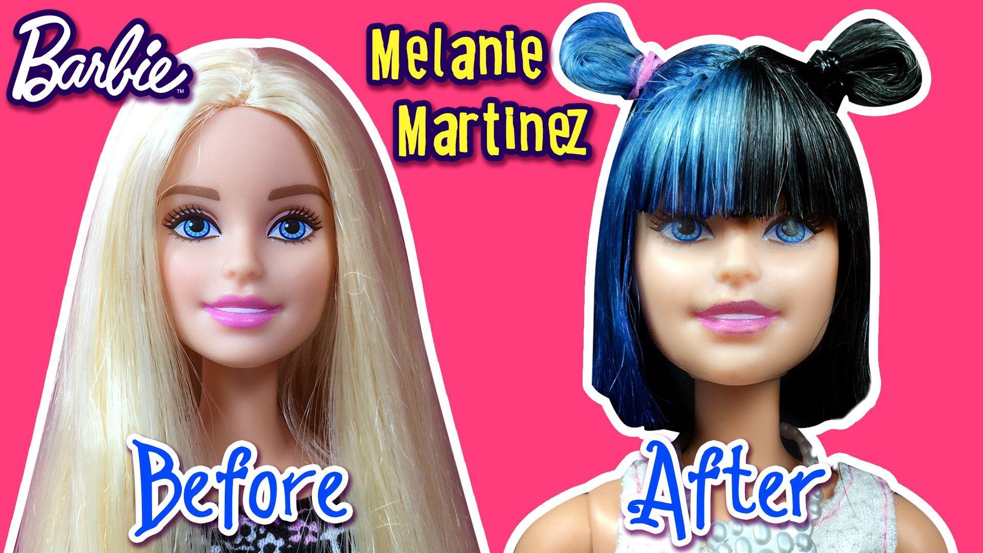 Demi Lovato Hair Tutorial for Barbie Doll - Barbie Haircut Tutorial ...