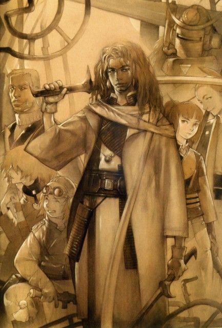 gonzo samurai 7 shichiroji heihachi hayashida katayama