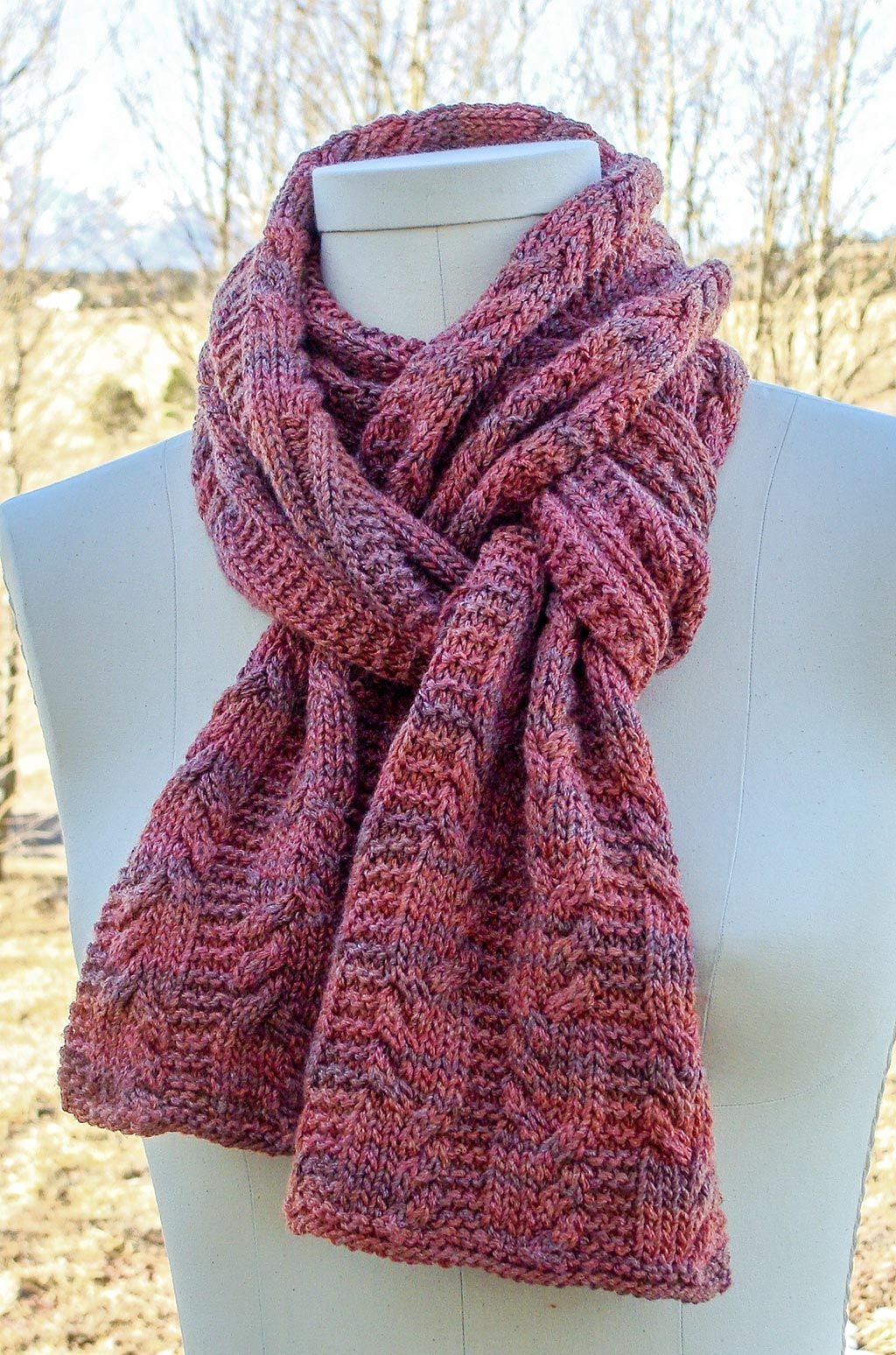 Deriva Seaman Scarf Knitted Scarves Knitting Patterns Knit Cowl