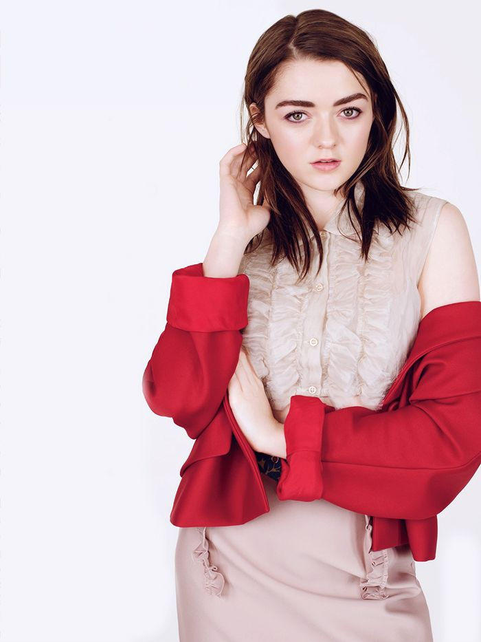 """805df8c6713a Maisie Williams - Glamour UK - May 2015 """""""
