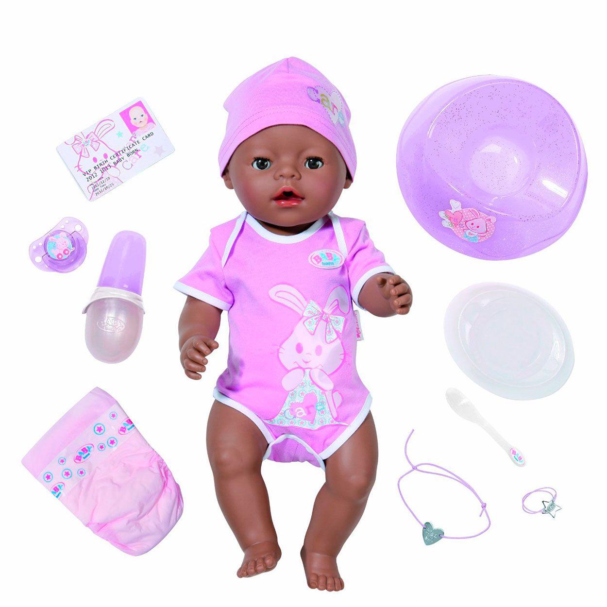 Baby Born Interactieve Donkere Pop Borns Baby Pop