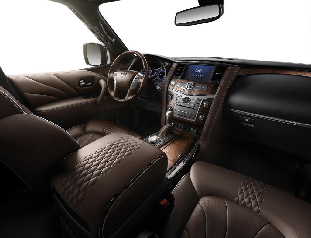 2015 Infiniti Qx80 Interior Luxury Suv 2015 Infiniti Infiniti