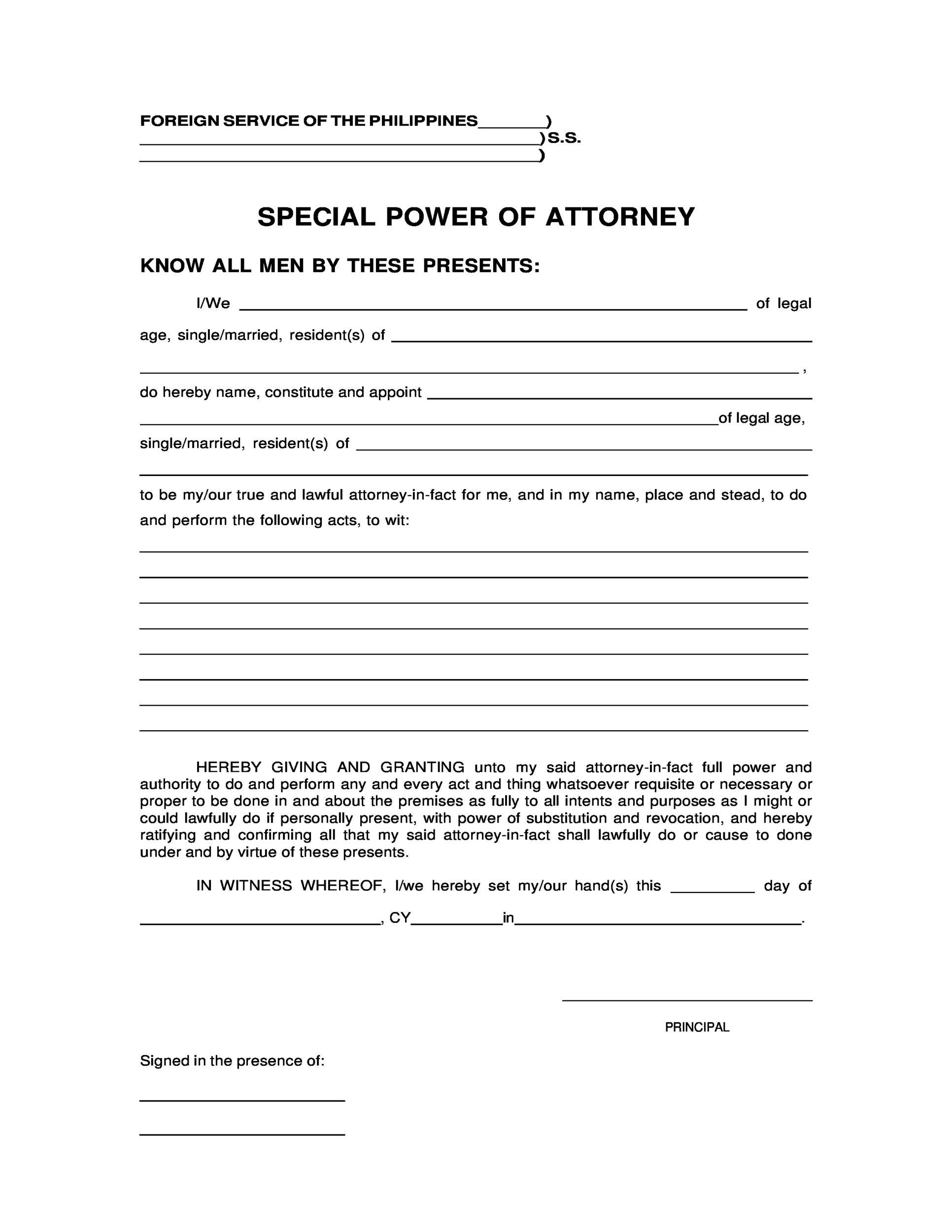 Power Of Attorney Sample Letter In 2020 Power Of Attorney Form Power Of Attorney Scholarship Thank You Letter