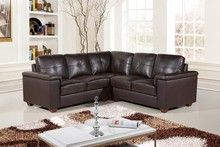 Step away from the mainstream because brown is the new black. Black has become way too common. Don't fade into the background. Get a brown leather sofa and stand out.