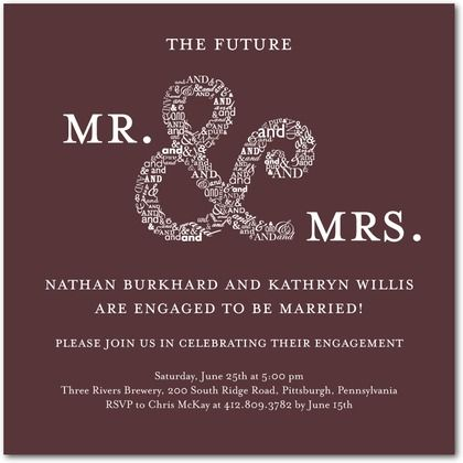 Engagement Party Invite MY BEST FRIENDS WEDDING!!!! Pinterest - free engagement party invites