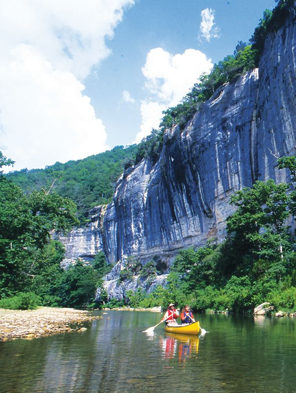 Buffalo River Canoeing In Arkansas   We Loved It   Want To Go Back With Our