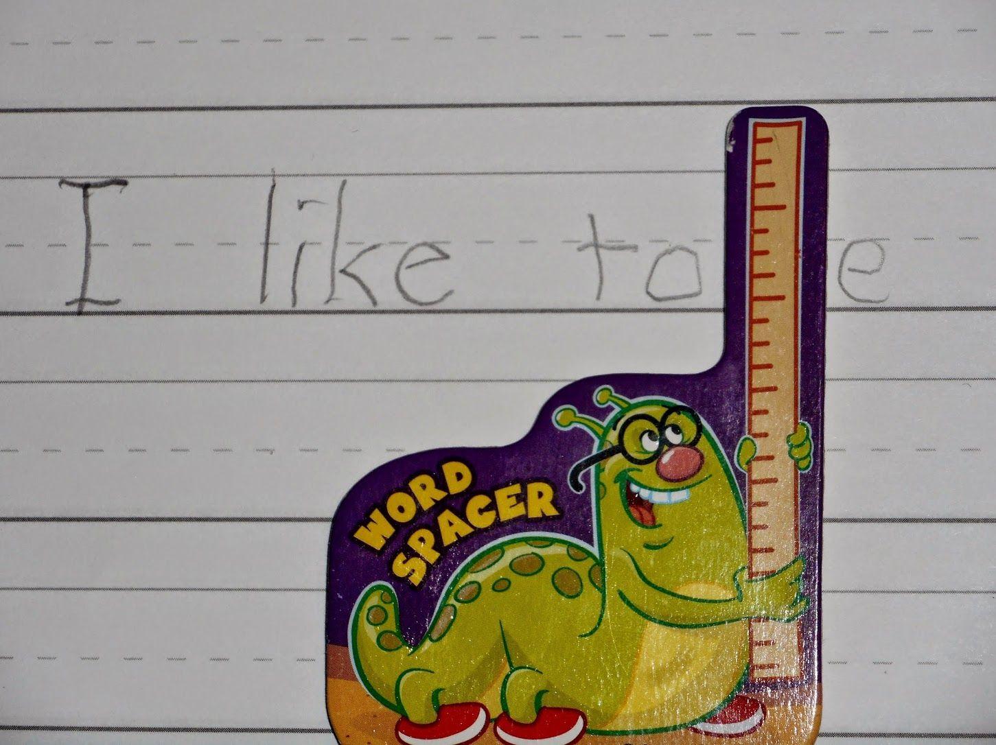 Handwriting Word Spacer