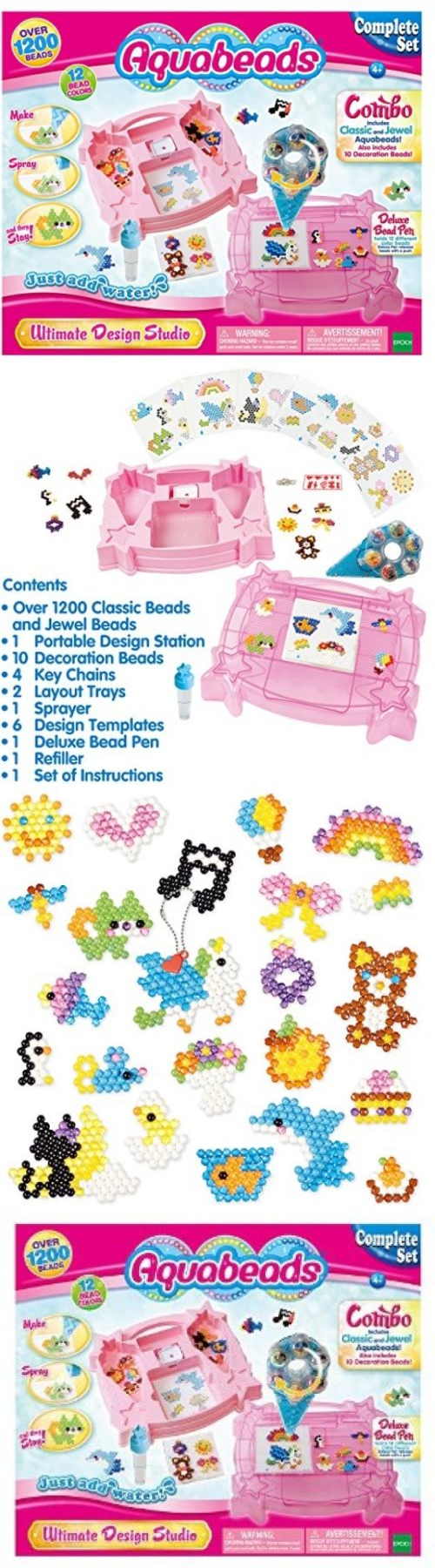 Bead Kits 134567 Aquabeads Ultimate Design Studio Playset Buy It
