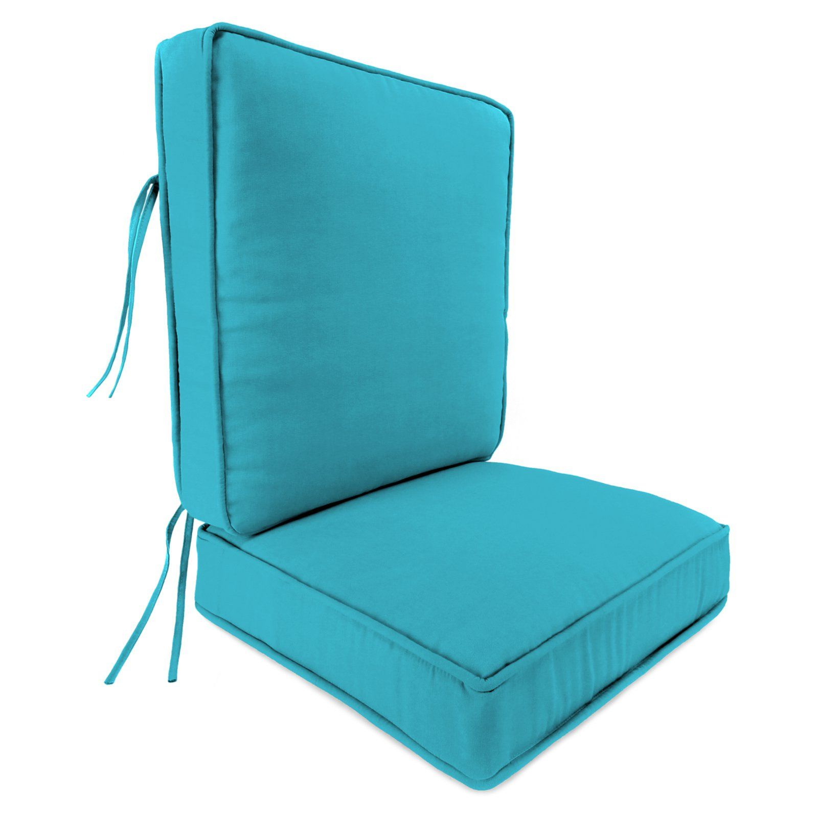 Jordan Manufacturing 24 X 22 5 In Outdoor Boxed Cushion With