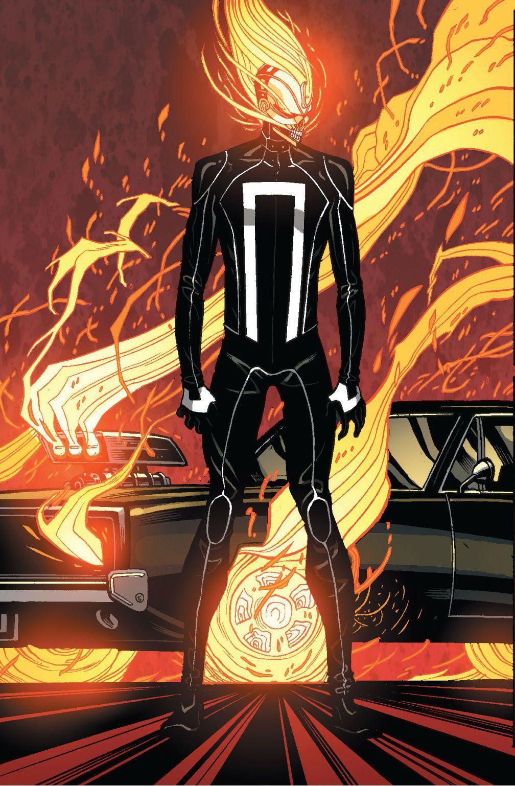 Ghost Rider (Robbie Reyes) by Tradd Moore | Cartoon favs