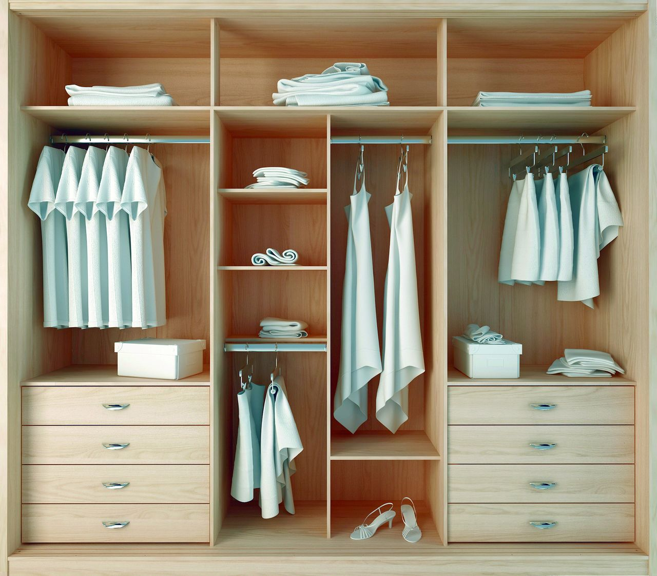 Manhattan comfort 34263 8 drawer noho 3 door wardrobe in for Ikea dans nyc manhattan