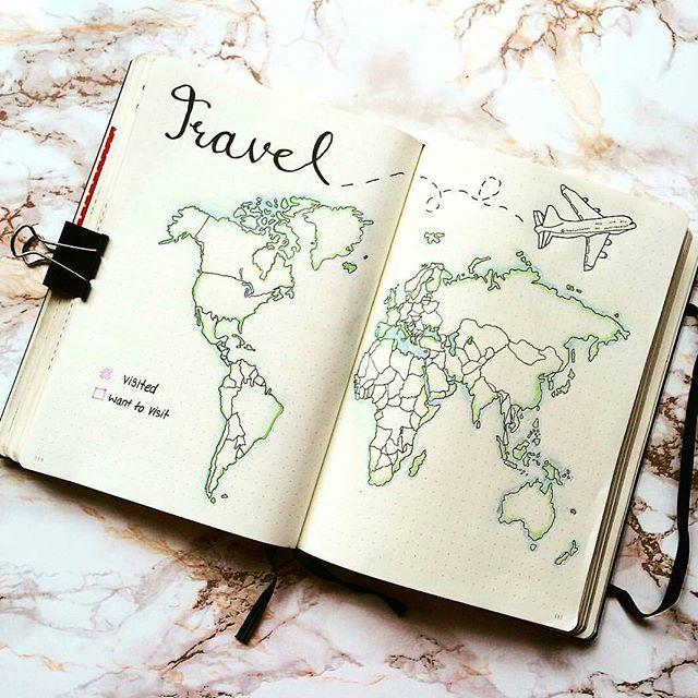 Hast Du Deinen #Urlaub dieses Jahr schon geplant? ... - #deinen #Dieses #du #geplant #hast #Jahr #schon #Urlaub #zeichnen #journaling