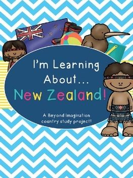 New Zealand Booklet Country Study Project Unit Country Study