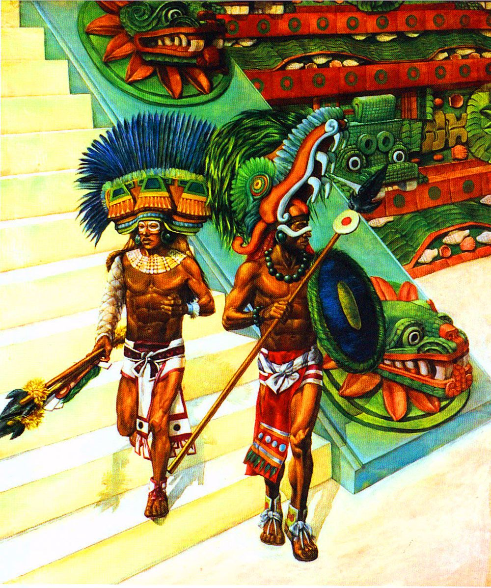 a study on the aztec indians Another study, also focused on the mtdna (that which is inherited through only the maternal line), revealed that the indigenous people of the americas have their maternal ancestry traced back to a few founding lineages from east asia, which would have arrived via the bering strait.