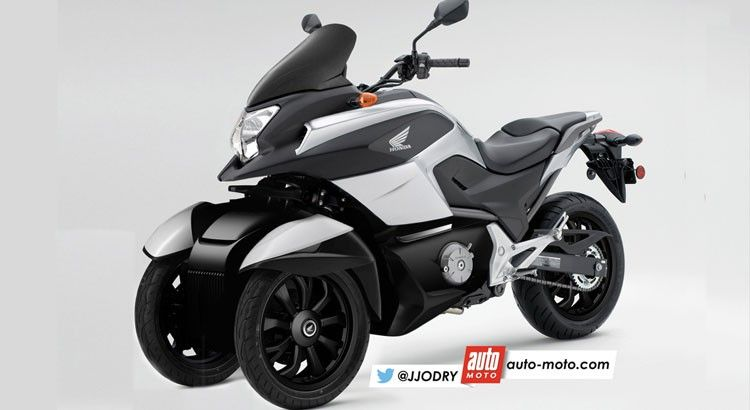 scooter honda 3 roues voici le nc 750 d3 scoop moto cool motorrad. Black Bedroom Furniture Sets. Home Design Ideas