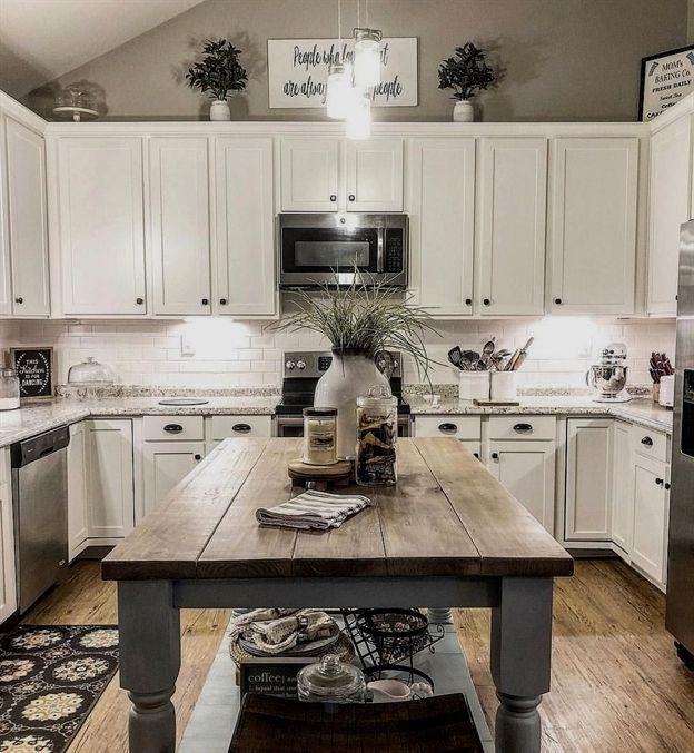 Interactive Kitchen Design Free: Inspiring White Farmhouse Style Kitchen Ideas To Maximize