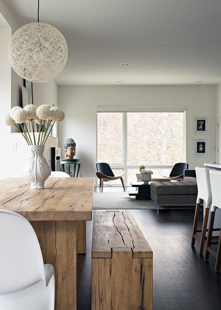 carpenter residence by kem studio living kitchen dining room pinterest esstische wohnen. Black Bedroom Furniture Sets. Home Design Ideas