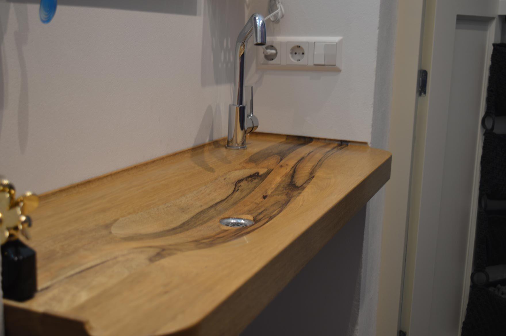 Wasbak 1 Meter : Wasbak op maat voor kleine badkamer na badkamer