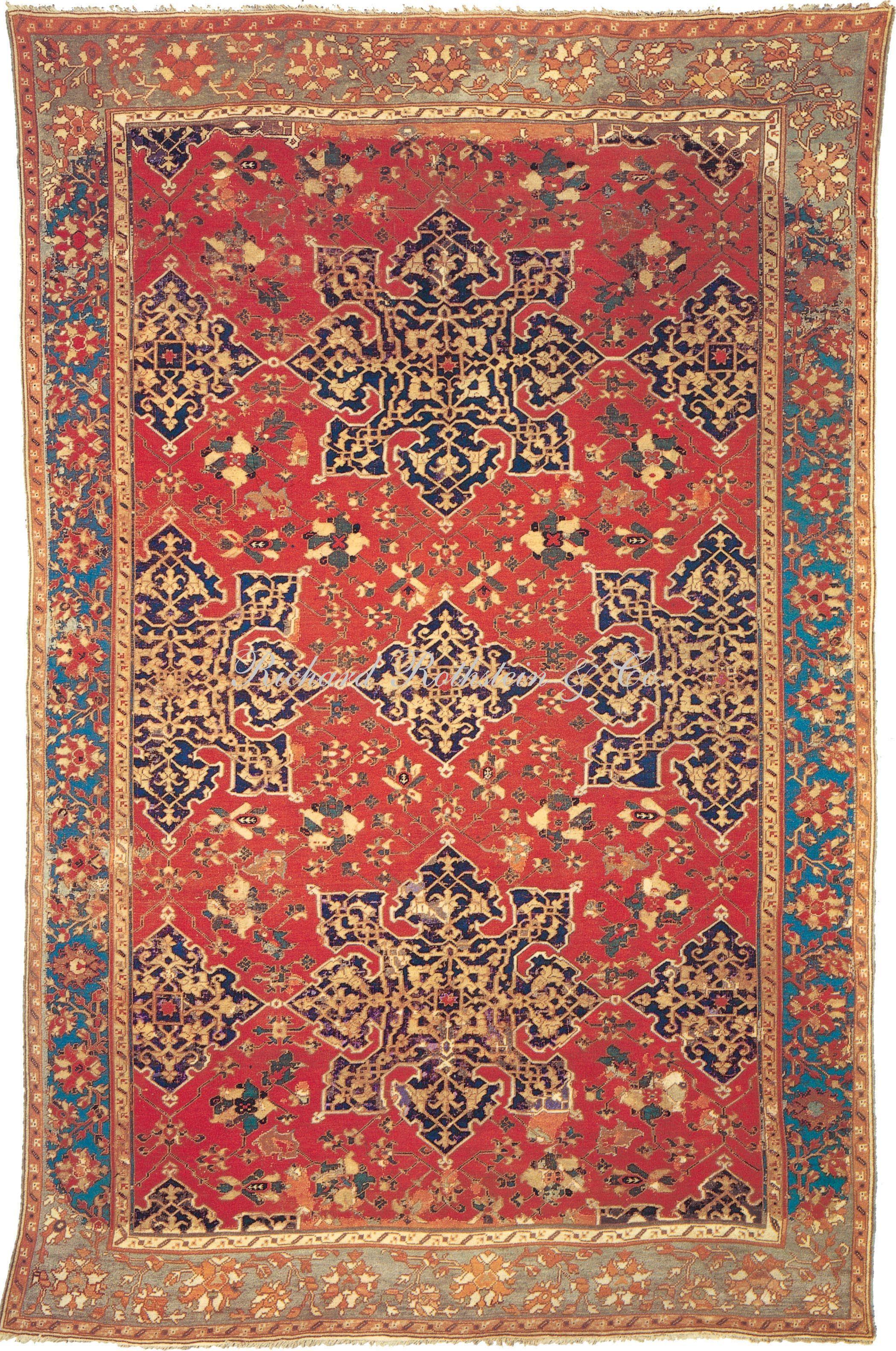 Antique Oushak Rug 6 3 X 9 7 I Historic Oriental Rugs Collection Size 6 3 X 9 7 Rugs Antique Oushak Rugs Antique Oushak