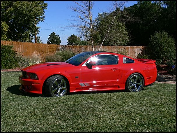 S136 2008 Ford Mustang Saleen Extreme 302 620 Hp 6 Speed Mecumkc