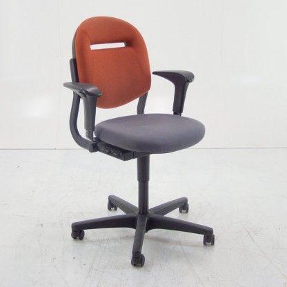 Ahrend 220 Bureaustoel Zwart.Gebruikte Bureaustoel Ahrend 220 Rood Paars Officetopper Com