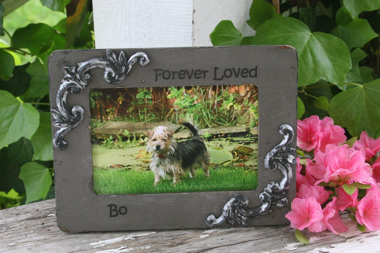 4 x 6 frames pet frames dog frames personalized