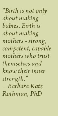 NurtureWays :: Birth quotes