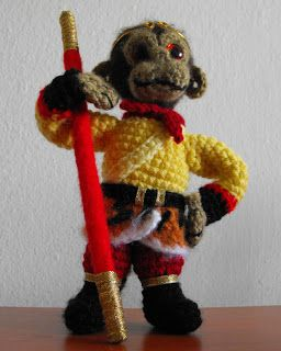 The Monkey King - Free Pattern