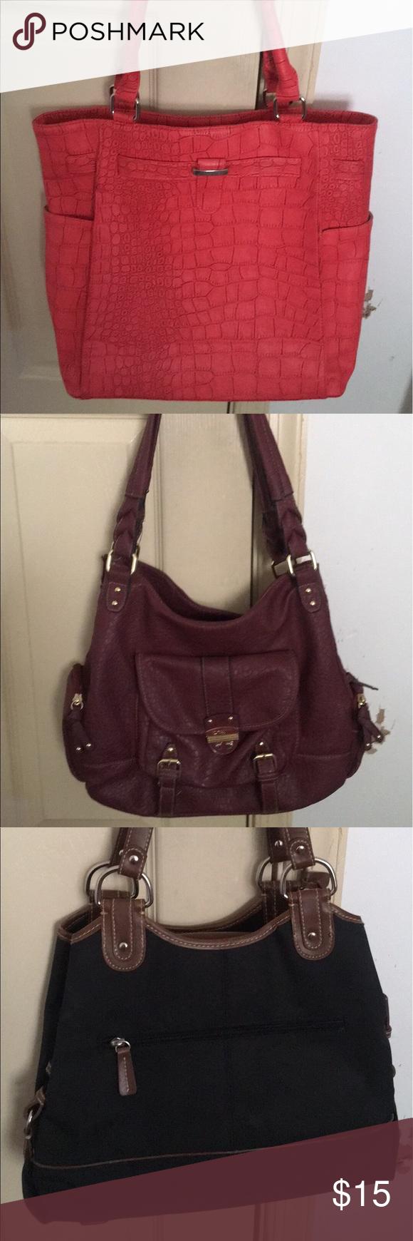 Cute fun spring/summer handbags Four cute fun lightweight spring/ summer bags Bags Totes