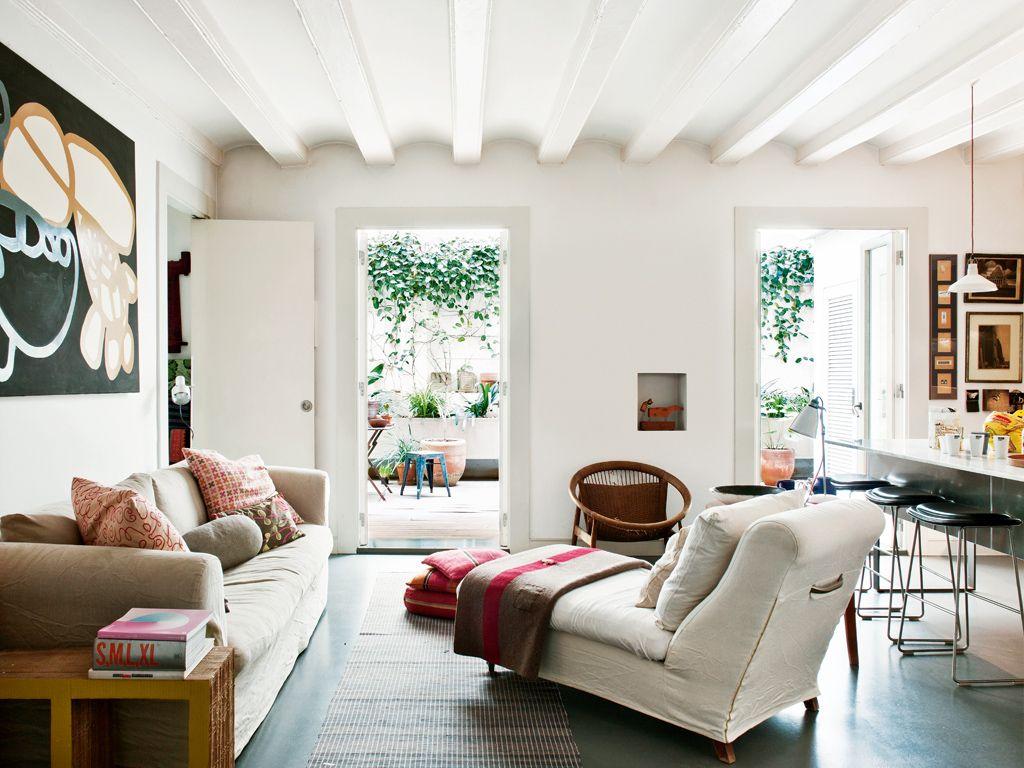 Una vivienda con patio interior | Pinterest | Patio interior, Patios ...