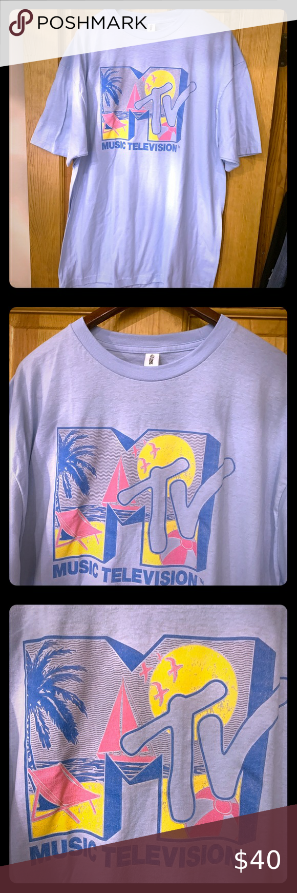 MTV Spring Break 90s Tee MTV Spring Break 90s Tee!!! New...Ask for more details or pics... MTV Shirts Tees - Short Sleeve