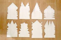Sterne aus Papiertüten - HANDMADE Kultur