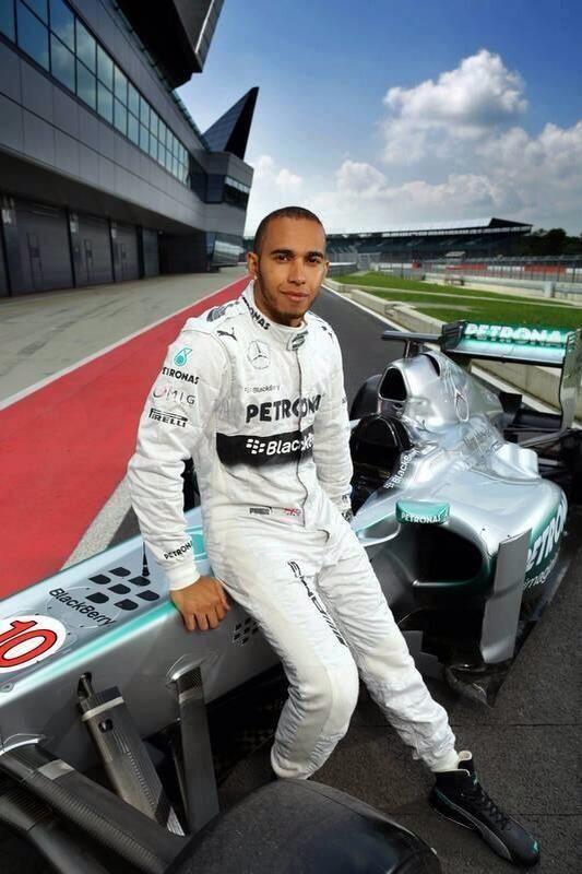My daughter's favorite (next to Dad) :)  ...Lewis Hamilton