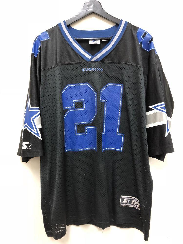 Vintage Nfl Dallas Cowboys Deion Sanders Starter Jersey Xl Black Free Shipping Nfl Dallas Cowboys Dallas Cowboys Vintage Clothes 90s